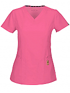 """Beloved"" V-Neck Top w/ Antimicrobial"