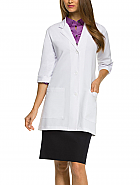 'Grey's Anatomy Signature' 3/4 Sleeve Lab Coat