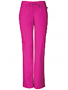 """Vienna"" Mid Rise Straight Leg Pant w/ Antimicrobial"