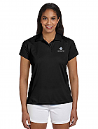 M315 Harriton Ladies' 4 oz. Polytech Polo