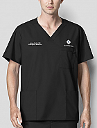 WonderWORK Men's V-Neck Top - Physician's Top w/ Personalization