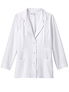"Meta Pro Ladies 29"" Stretch Consultation Coat"