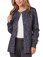 Warm-Up Print Jacket w/ Antimicrobial