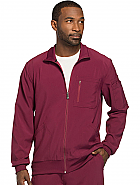 'Infinity' Men's Zip Front Warm-Up Jacket