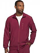 'Infinity' Men's Zip Front Warm-Up Jacket