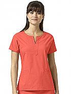 Linda Notch Neck Top