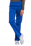 Mid Rise Straight Leg Pull-on Cargo Pant