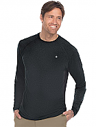 Men's Raglan Mesh Long Sleeve Tee