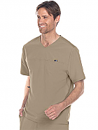 Men's Motion V-Neck Scrub Top