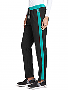 'Spandex Stretch' Color Block Cargo Pant