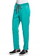 'Spandex Stretch' Knit Waist Midrise Cargo Pant