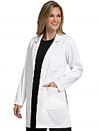 "Women's 34"" Mid Length Lab Coat"