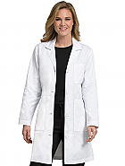 "Women's 37"" Doctor Length Lab Coat"