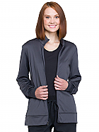 Unisex Zip Front Warm-up Jacket