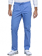 Unisex Straight Leg Drawstring Pant