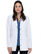 "28"" Notched Lapel Lab Coat"