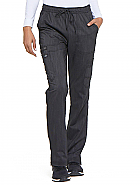 Mid Rise Boot Cut Drawstring Pant