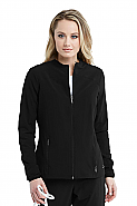 'Barco One' Women's 2 Pocket Zip Front Warmup Scrub Jacket
