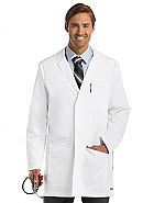 "'Grey's Anatomy' 6 Pocket 35"" Side Vent Men's Lab Coat"