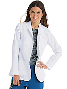 "'Grey's Anatomy'  5 Pocket 28"" Waist Seam Women's Lab Coat"