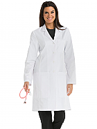 "'One Team' Women's 5-pocket 38"" Lab Coat"