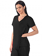'Grey's Anatomy Signature' 3-Pocket Asymmetrical Front Drape