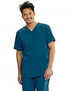 Motion 'Jake' 5 Pocket V-Neck Scrub Top