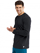 Men's  True Crew Neck Long Sleeve Scrub Tee