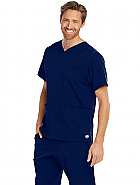 Men's Aspire Sports V-Neck Scrub Top