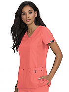 'Katie' Crossover Scrub Top