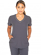 Women's 'Spirit' 4 Pocket V-neck Scrub Top
