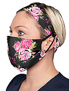 Betsey Johnson Mask & Headband Set