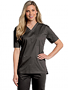Landau All Day Unisex V-Neck Scrub Top - 4139
