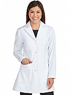 "Women's 'Vivien' 33"" White Lab Coat"