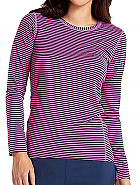 Activate Performance Knit Stripe Tee
