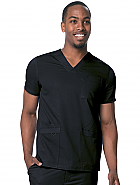 Men's V-Neck Multi Pocket Top