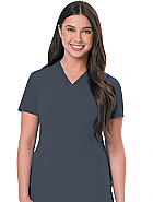 Women's Ultimate V-Neck With Knit Panels