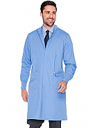 Unisex Lab Coat With Mock Neck