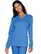 Proflex Women's Long Sleeve V-Neck Top