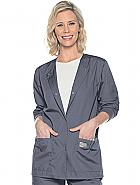 Scrubzone Women's Jacket With Knit Cuffs