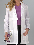 Belted Empire Waist Lab Coat