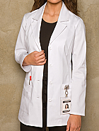 Women's Fashion Lab Coat